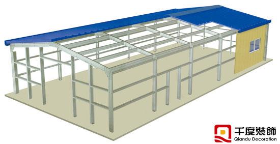 博科1100平方米办公车间改造(小鸭工业园4楼)