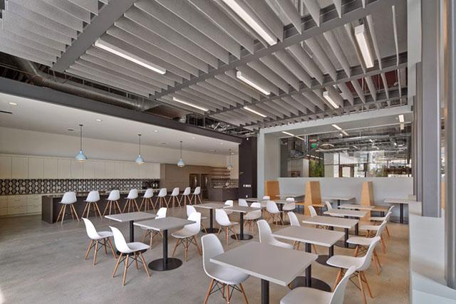 大型国际广告公司办公室装修设计欣赏
