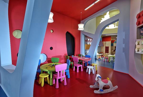 国外幼儿园室内装修设计案例,不看走宝