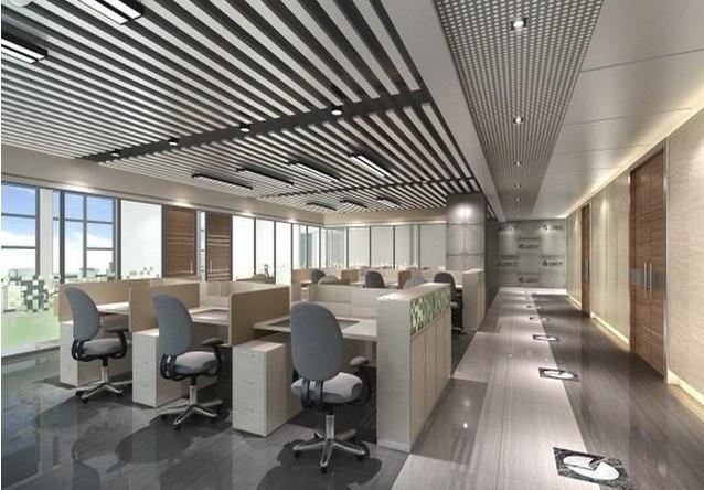 办公区(广典传媒,齐鲁银行) - 办公室装修 - 写字楼