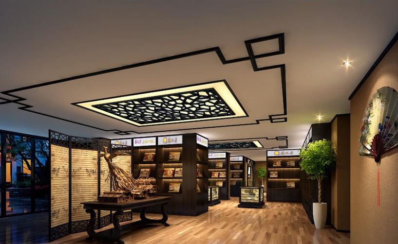 700平方现代中式办公室装饰案例 - 办公室装修 - 写字