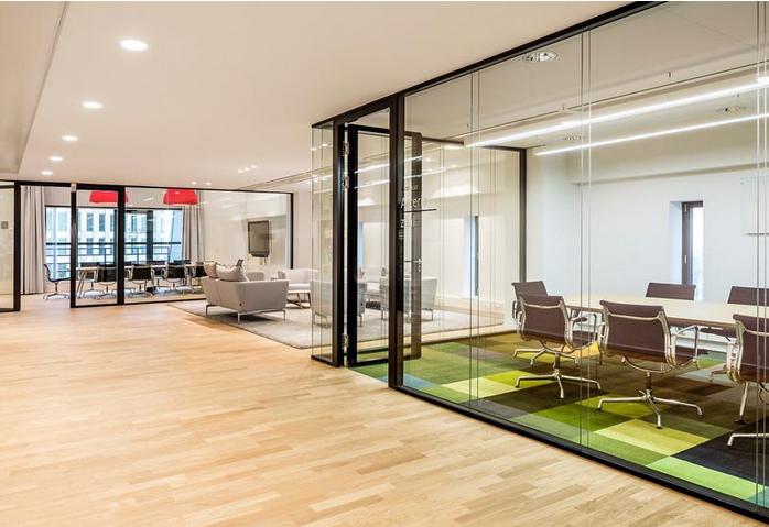 大型办公室设计地毯绚丽亮瞎眼
