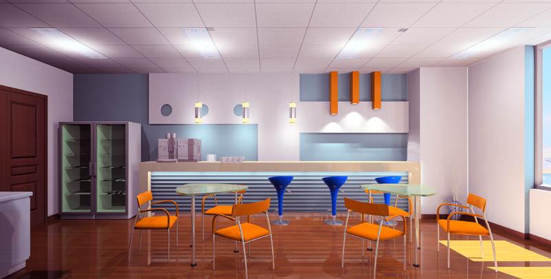 办公室茶水间设计 - 装修设计专区 - 办公室装修|济南