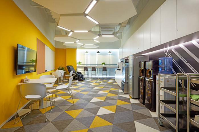员工休闲区装修效果图 - 办公室装修 - 办公室装修