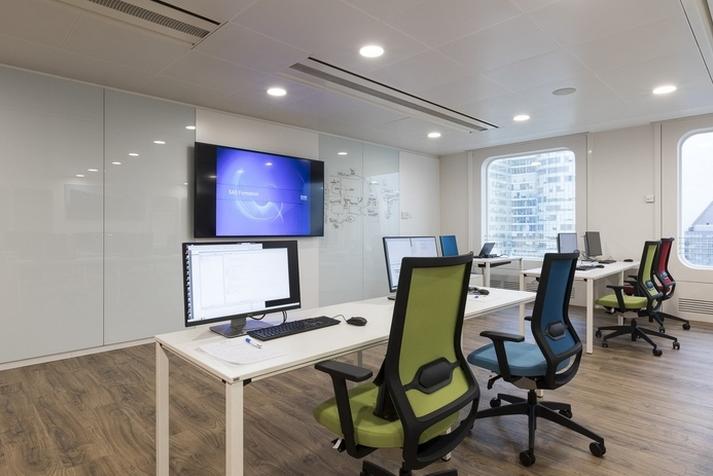 软件公司办公室装修设计