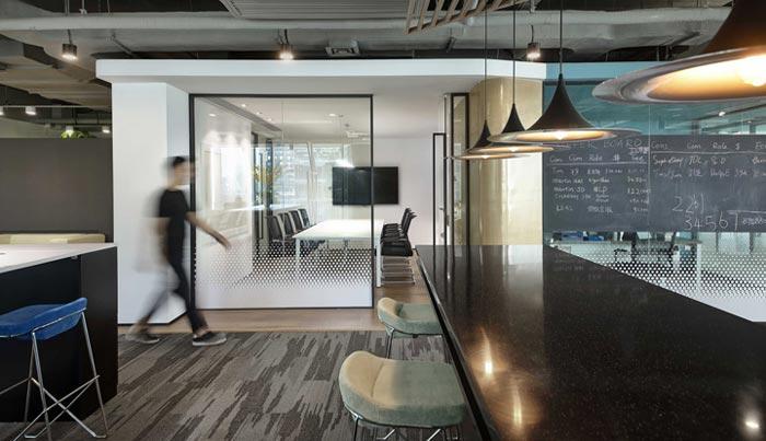 400平方办公室入口设计方案