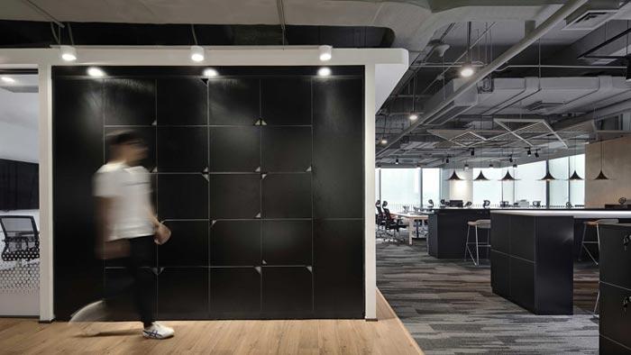 400平方办公室过道设计方案