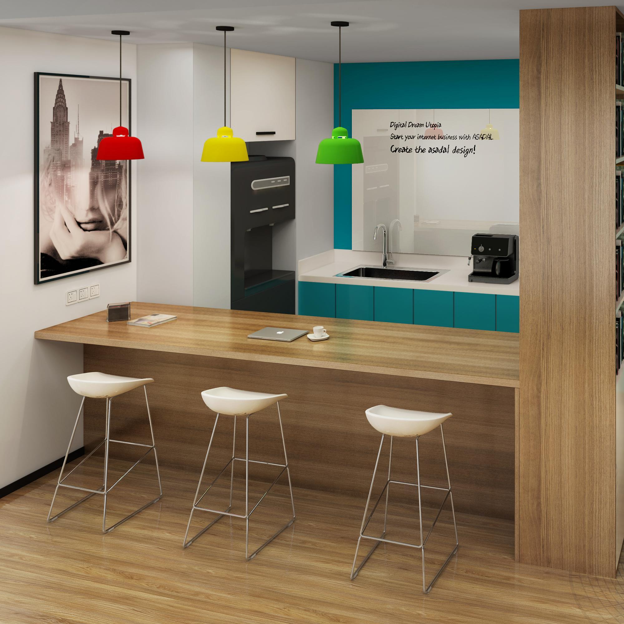 1150平办公室设计方案(银座晶都)