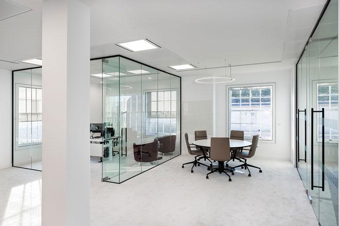 投资企业经理办公室装修设计效果图