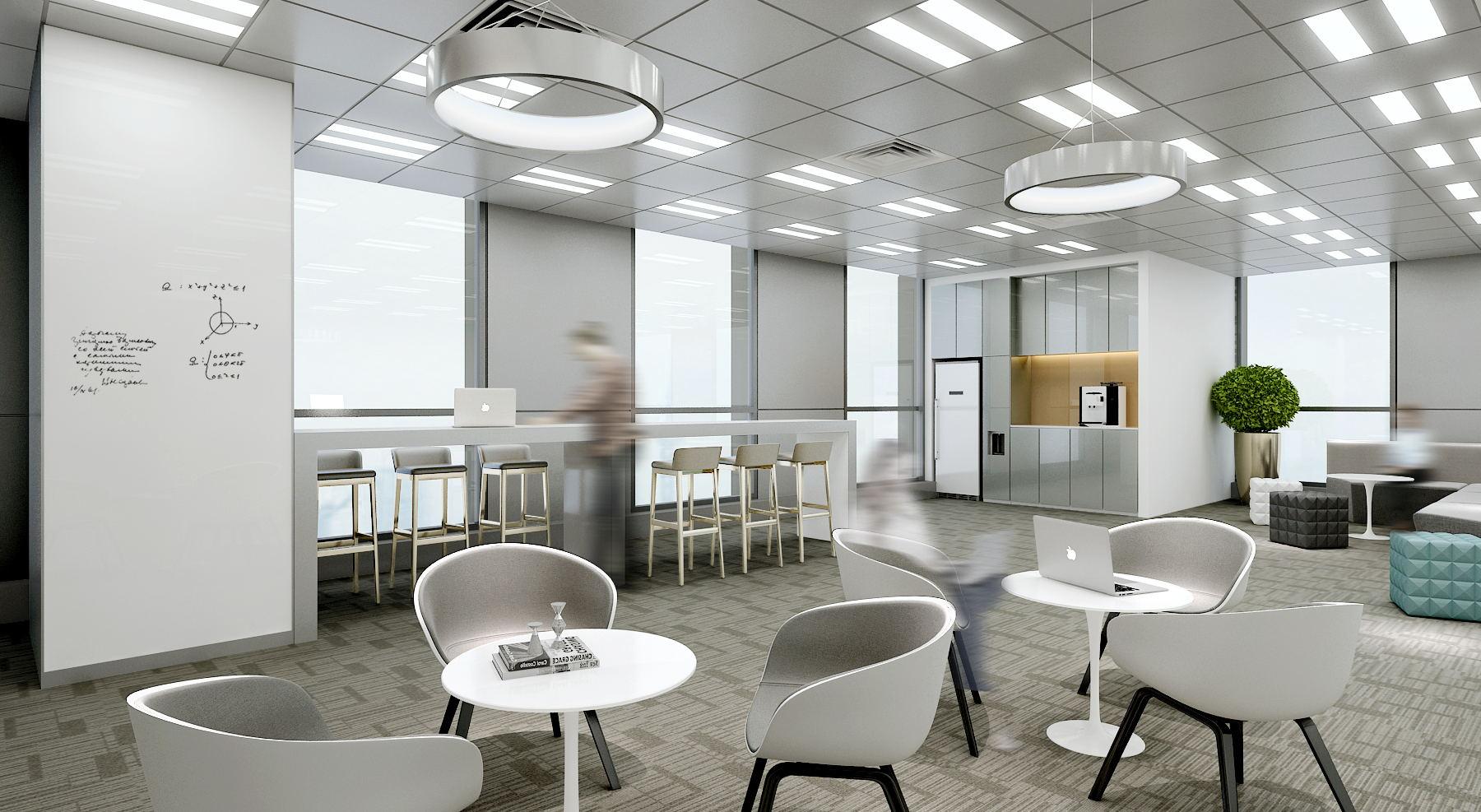 600平米办公室设计图片展示